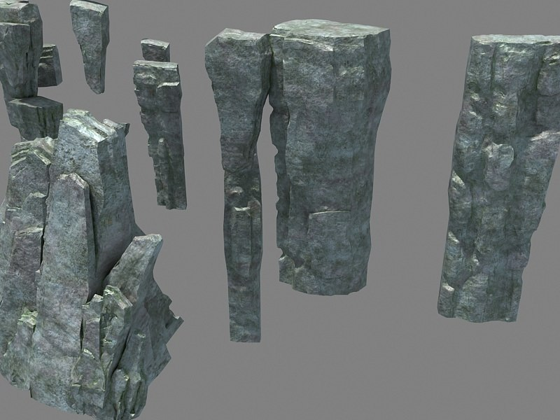 3D model mountain 833 mount