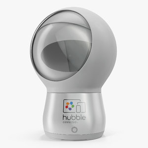 3D hubble hugo robot home model
