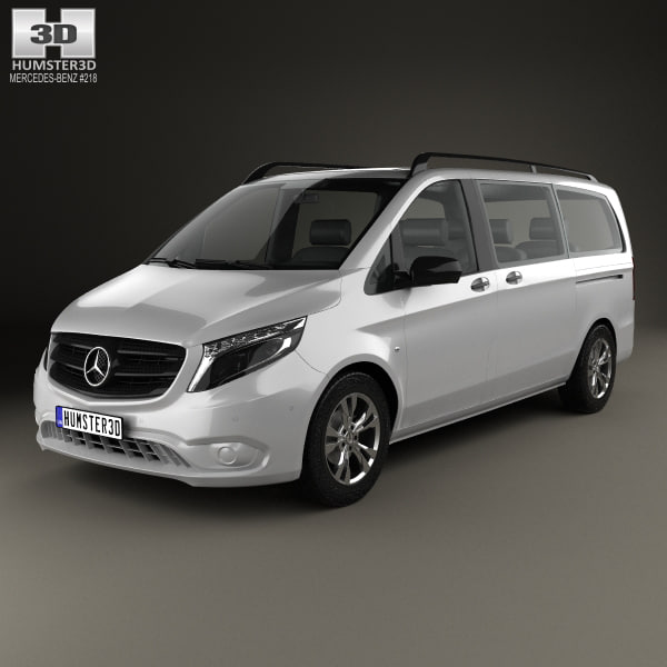 mercedes-benz vito tourer 3D model