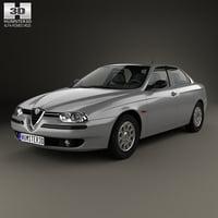 3D alfa-romeo 156 1997