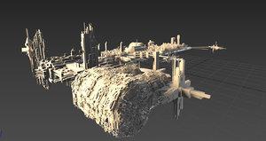 space city station model