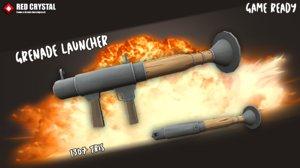 3D grenade laucher