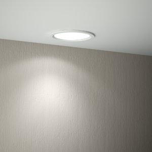 3D recessed light