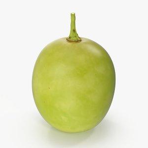 3D model green-grape---5