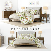 3D set pottery barn calistoga