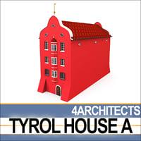 tyrol house 3D
