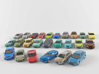 cars complete vehicle pack 3D model