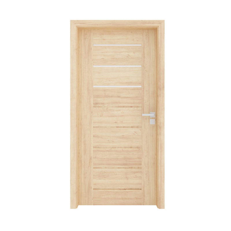 3D wooden interior door model