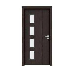 3D wooden interior door