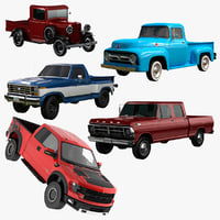 Ford Pickup Collection 1932 - 2015