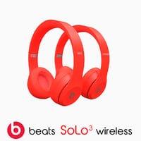 beat solo3 wireless 3D model