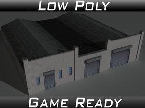 3D factory building 24