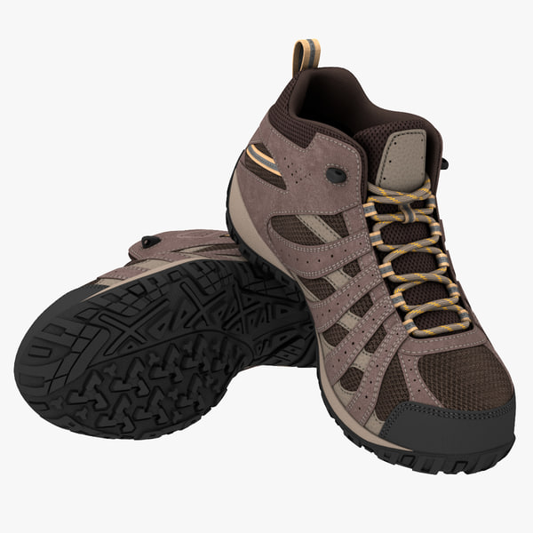 hiking boot 3D