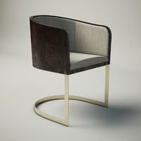 design armani chair 3D model
