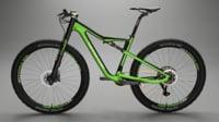 cannondale mountain bike 3D model