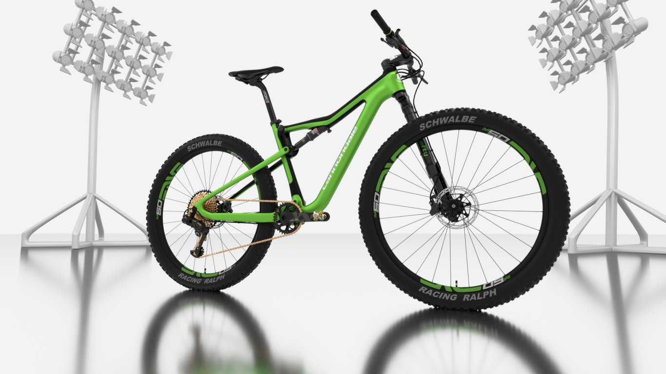 cannondale mountain bike 3D model