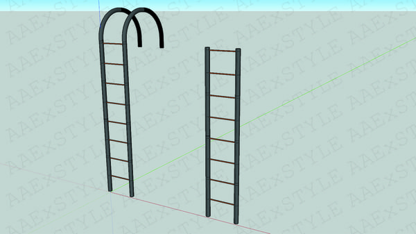3D ladders