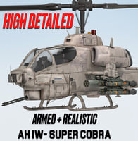 BELL AH-1 W SUPER COBRA