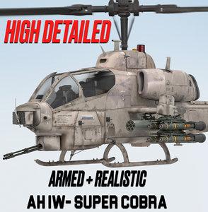 3D bell super cobra model
