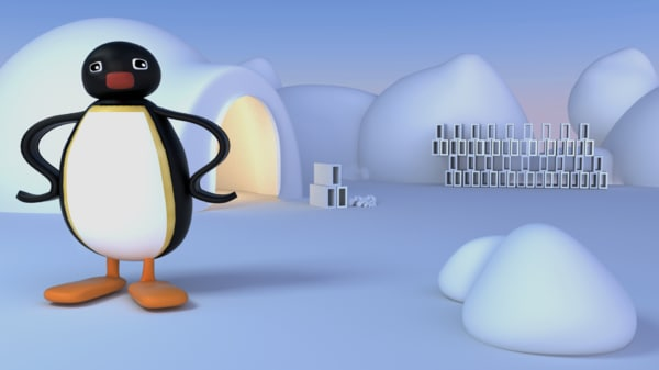 pinguino 3D model