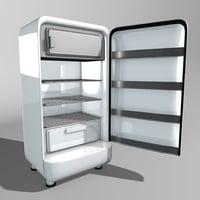 Vintage Refrigerator