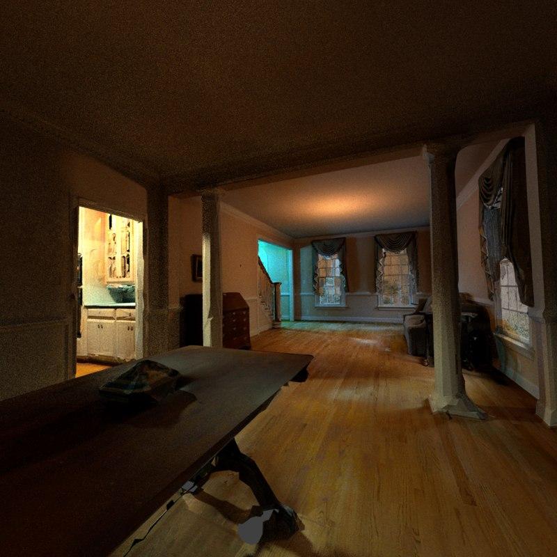 scanned home 1 3D model