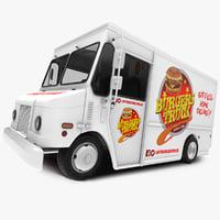 food truck gmc p3500 3D