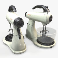 ready mixer blender 3D model