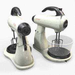 ready mixer blender 3D model