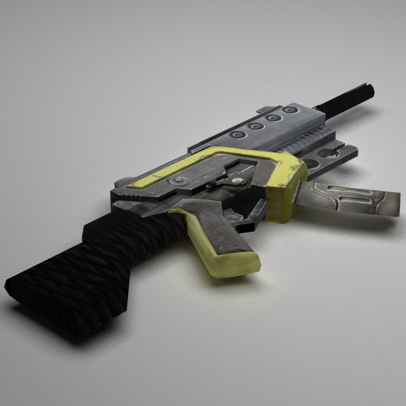 new weapons 3D model