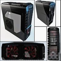 3D prosessor case pc