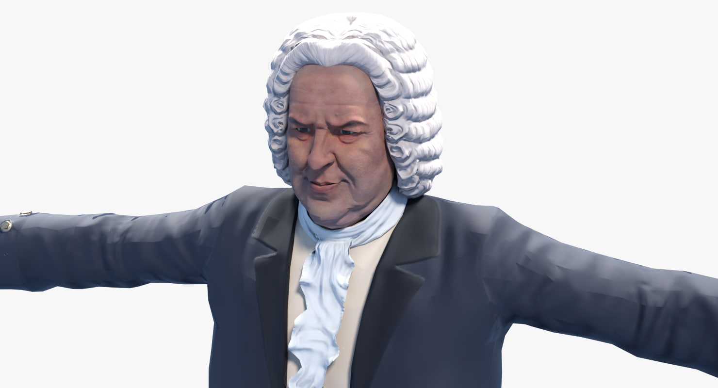3D bach great animating