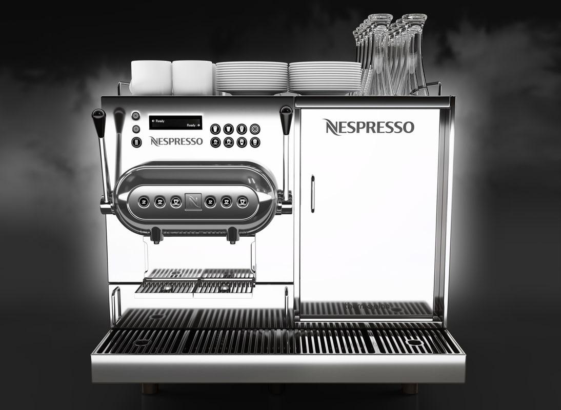 3D model nespresso aguila 220