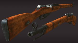 military rifles mosin model