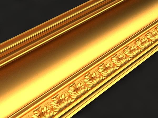 cornice mold decor 3D