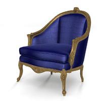 VIctorian Baroque Armchair