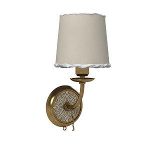 3D model baga 725 wall lamp