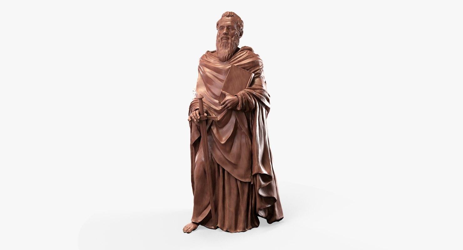 3D saint paul model