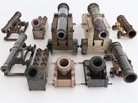 3D model guns