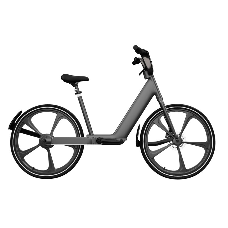 bicycle e electric 3D