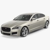 Jaguar XF Simple Interior