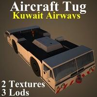 aircraft tug kac 3D