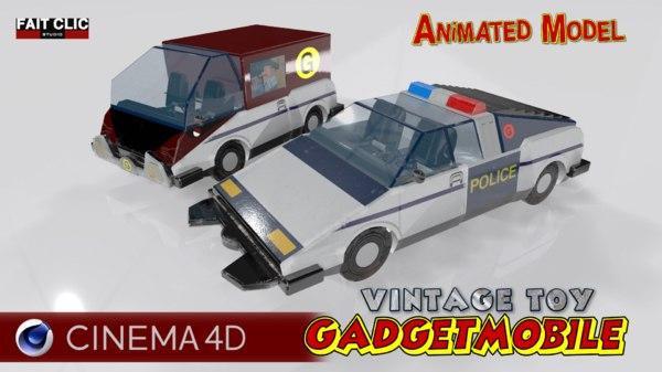 inspector gadget 3D model