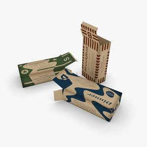 3D army k-rations boxes end