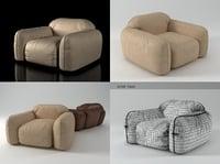 piumotto08 armchair 3D