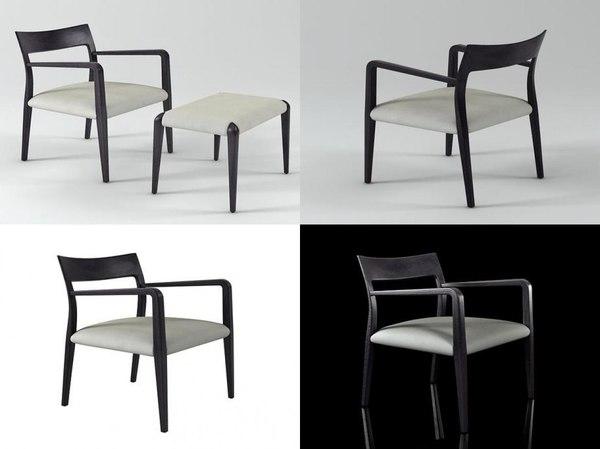 flip armchair model
