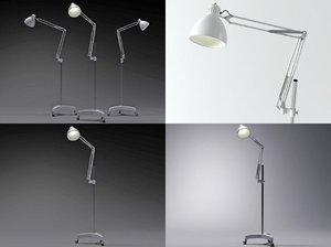 3D model naska floor lamp