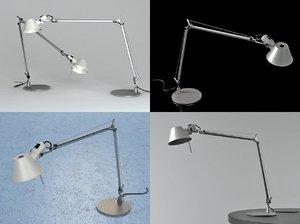 tolomeo table lamp 3D model