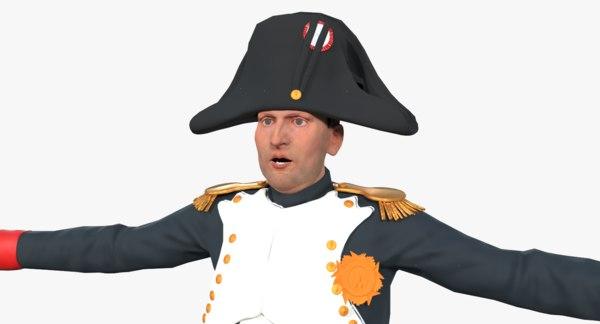 3D napoleon bonaparte model