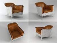rex armchair 3D